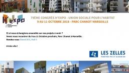 Les Zelles présent au 79ème Congrès H'Expo - Union Sociale pour l'Habitat
