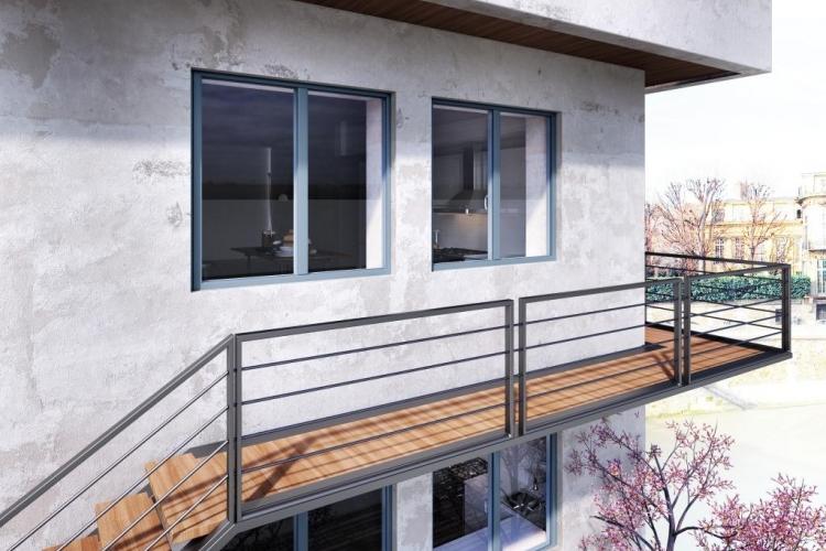 Fenêtre à Frappe Aluminium Essor Fenêtre Aluminium Menuiseries